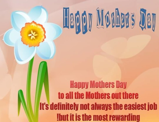 Great Quote Happy Mother's Day Image