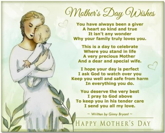 Great Wishes Happy Mother's Day Picture