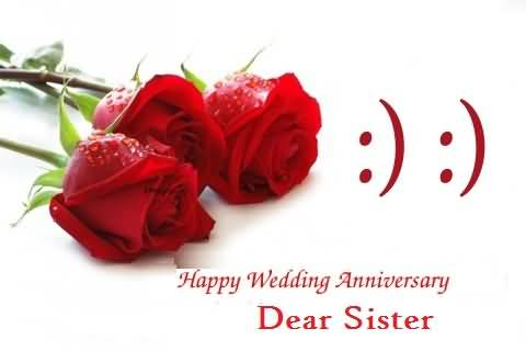 Latest E-Card Anniversary Wishes For Sister