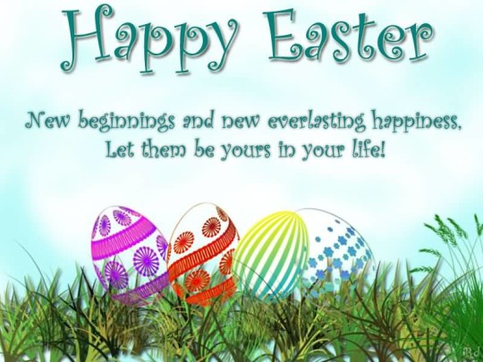 Latest Message Happy Easter Greetings