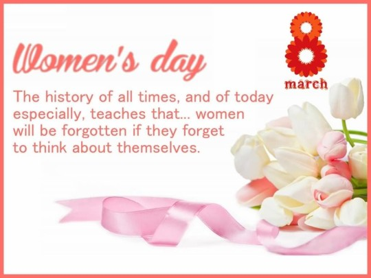 Latest Message Happy Women's Day Greetings