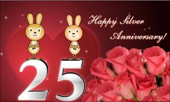 Lovely 25th Anniversary Wishes For Uncle Greetings