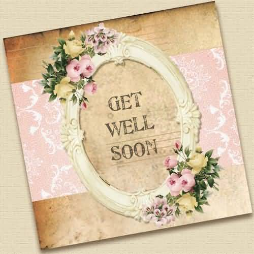 Lovely E-Card Get Well Soon