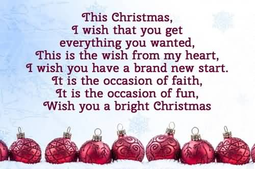 Lovely Greetings Merry Christmas Wishes