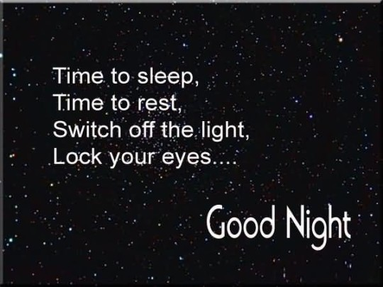 Lovely Message Good Night Greetings