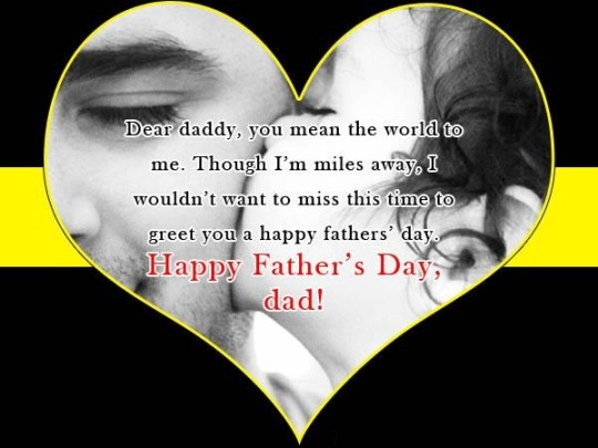 Lovely Message Happy Father's Day Greetings