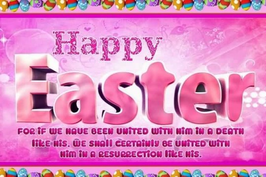 Lovely Quote Happy Easter Greetings