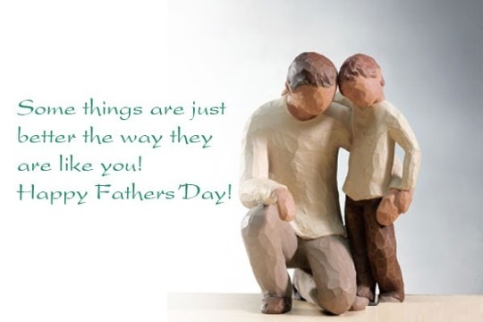 Lovely Quote Happy Father's Day Picture