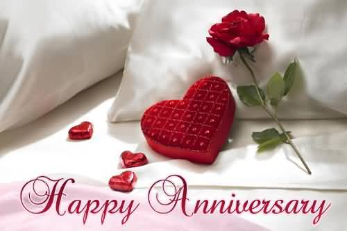 Lovely Red Rose Anniversary Wishes For Sister In Law Wallpaper