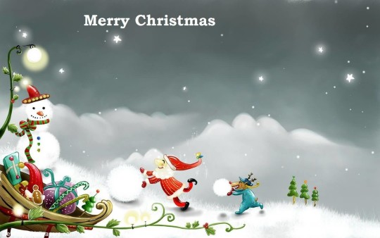 Lovely Wallpaper Merry Christmas Wishes