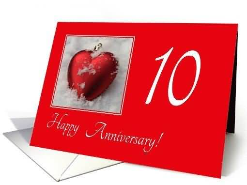 Mind Blowing 10th Anniversary Wishes For Brother In Law E-Card