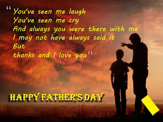 Motivational Quote Happy Father's Day Image