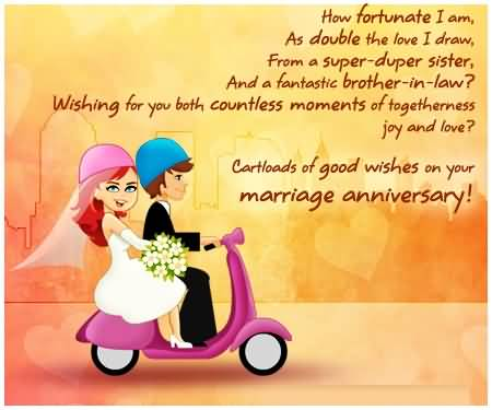 New E-Card Anniversary Wishes For Brother In Law