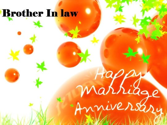 Nice Anniversary Wishes For Brother In Law Wallpaper
