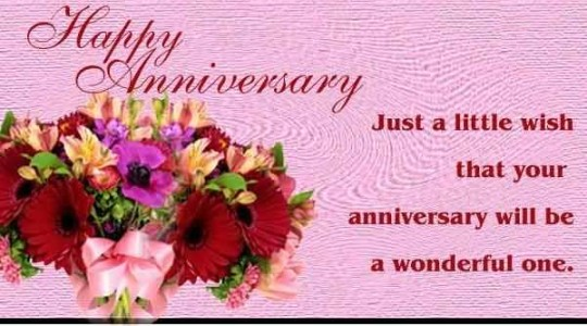 Nice Anniversary Wishes For Sister Graphic