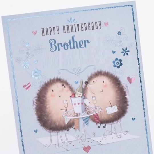Nice Greetings Anniversary Wishes For Brother
