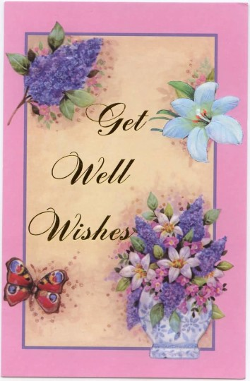 Nice Greetings Get Well Soon