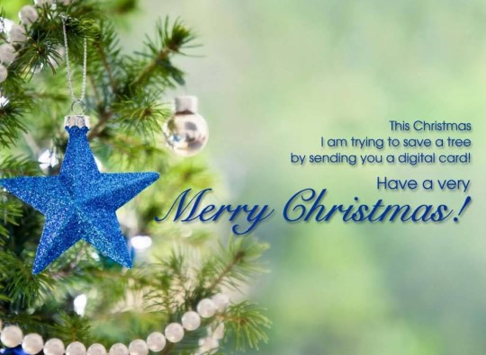 Nice Merry Christmas Message Greetings