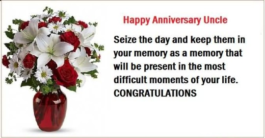 Nice Message Anniversary Wishes For Uncle Picture
