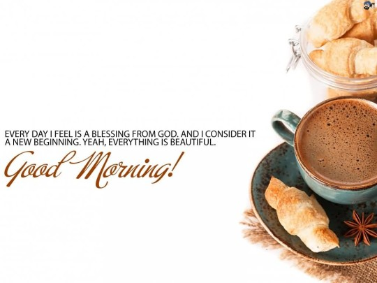 Nice Message Good Morning Wallpaper