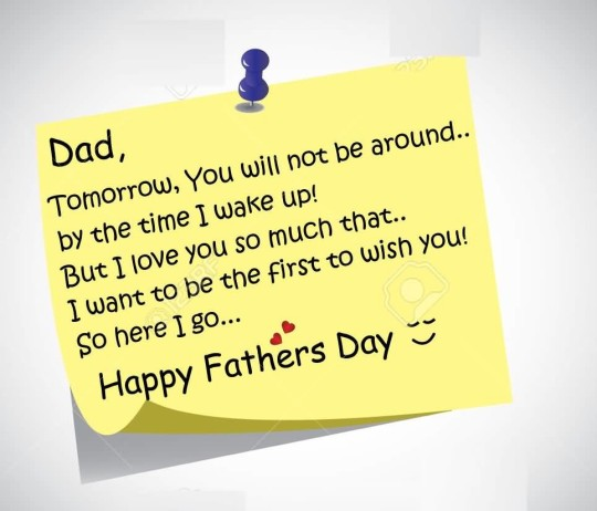 Nice Message Happy Father's Day Graphic