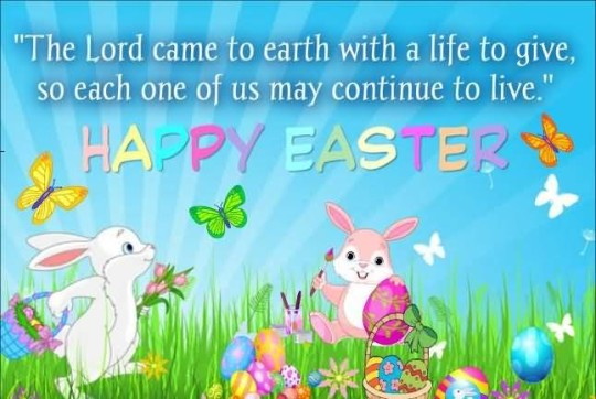 Nice Quote Happy Easter Graphic