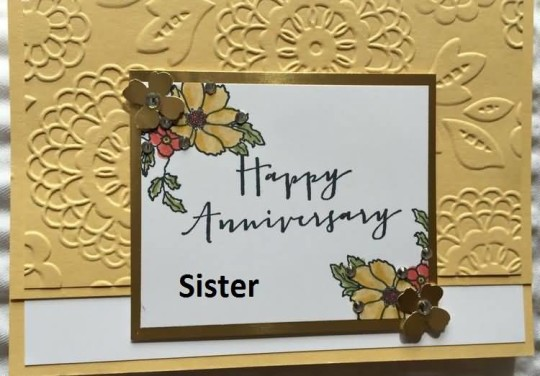 Outstanding Greetings Anniversary Wishes For Lovely Sister