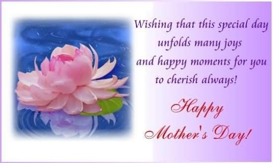 Perfect Message Happy Mother's Day Greetings