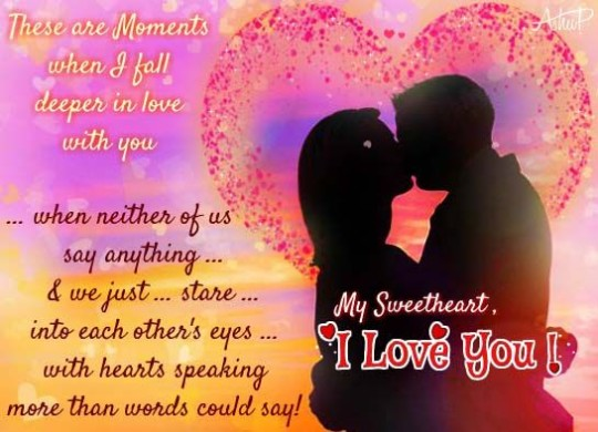 Romantic Love Wishes Image