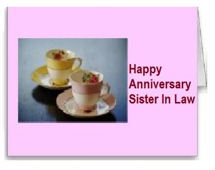 Special E-Card Anniversary Wishes For Sister In Law