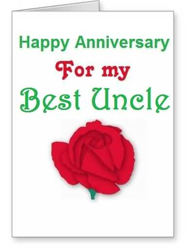 Special e card anniversary wishes for uncle nicewishes