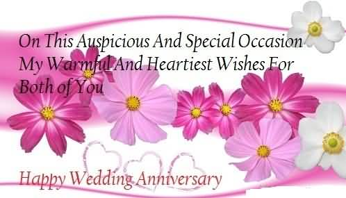 Special Greetings Anniversary Wishes For Uncle