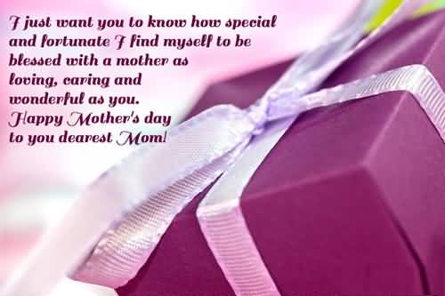 Special Message Happy Mother's Day Wallpaper