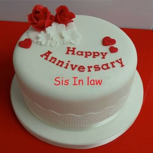 Superb Anniversary Wishes For Sister In Law Graphic