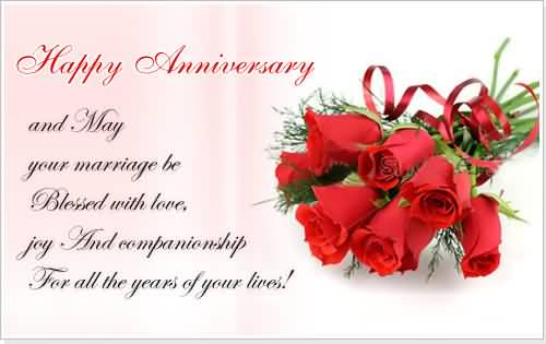 Superb E-Card Anniversary Wishes For Sister In Law