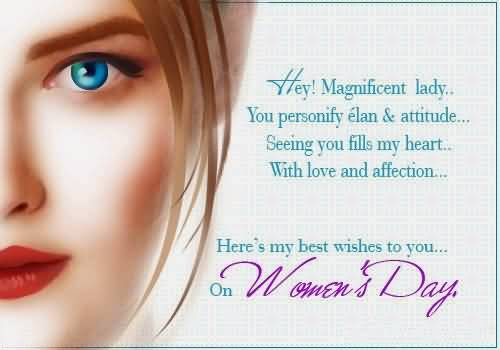 Superb Message Happy Women's Day Image