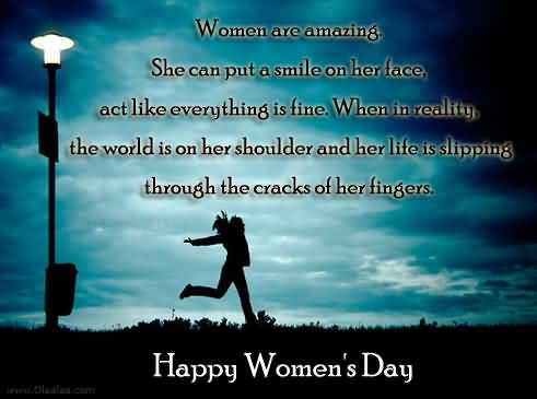 Superb Message Happy Women's Day Wallpaper