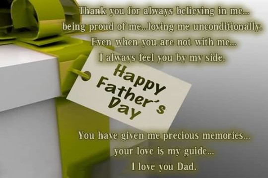 Superb Quote Happy Father's Day Image