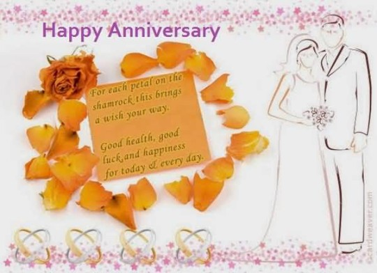 Sweet Anniversary Wishes For Brother In Law Image