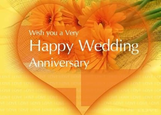 Sweet Anniversary Wishes For Charming Brother Wallpaper
