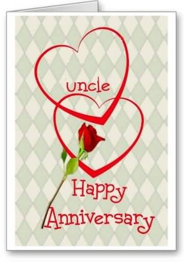 Sweet E-Card Anniversary Wishes For Uncle (2)
