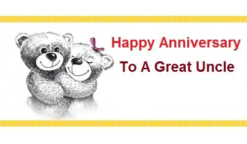 Sweet E-Card Anniversary Wishes For Uncle