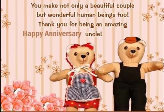 Sweet Greetings Anniversary Wishes For Uncle Dear Uncle