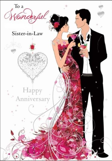 Sweet Greetings Anniversary Wishes For Wonderful Sister In Law