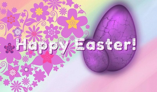 Sweet Happy Easter Graphic