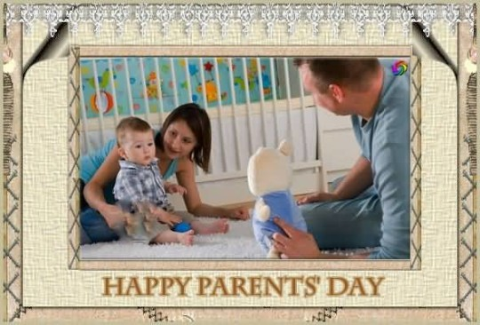 Sweet Happy Parent's Day Picture