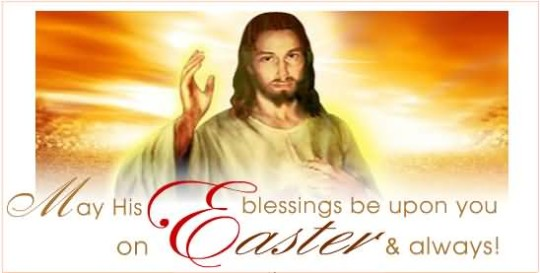 Sweet Message Happy Easter Image