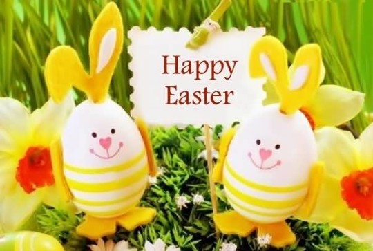 Sweet Wishes Happy Easter Image