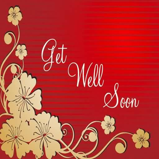 Traditional Get Well Soon Graphic