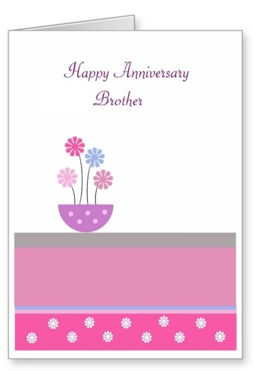Ultimate E-Card Anniversary Wishes For Brother